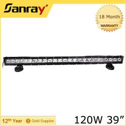 120w 12V factory direct IP67 single row top led light bars
