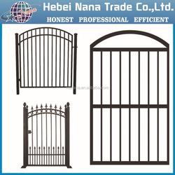 Hot sale steel main gate design for homes