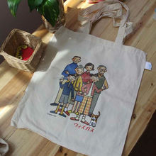 2014 alibaba wholesale export shopping tote cotton bag ladies handbag/OEM bags welcome