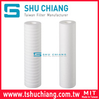 PP Sediment Filter Cartridge Big Blue Waste Water Treatment PP Water Filter Cartridge