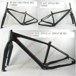Super light chinese carbon bike frame complete fat bike carbon fat bike frame