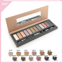 branded eyeshadow makeup palettes natural make up brush wholesale