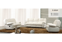 Italy Genuine Leather Electric Recliner Sofa