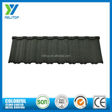 Eco-friendly economy stone metal roofing materials