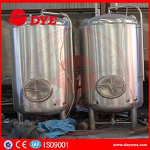 Single Wall Serving Vessel Bright Beer Tank