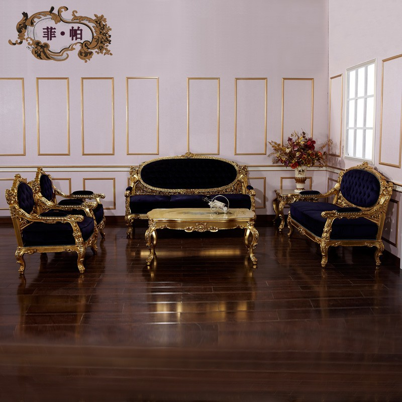 Italian furniture living room furniture hand carved for Italian furniture