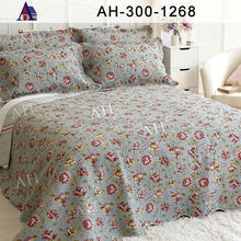 High Quality OEM Custom Wholesale Printed Bedspreads Quilt Pattern