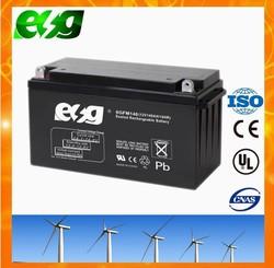 12V 140ah Sealed Lead Acid Storage Battery Rechargeable 12 Volt