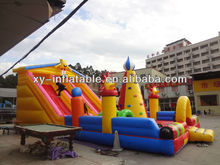 2012 inflatable bouncy castle with slide