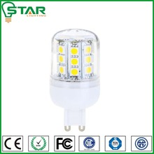 CE SAA approval 360 degree 3.5W 350lms g9 led bulb