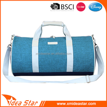 Customized sizes user-friendly durable polyester wholesale travel duffle bag