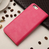 Wallet PU Leather Case Cover Pouch with Card Slot For iPhone 6s 6 & 6 plus