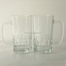 2015 high quality blank beer glass mug/cup/stein large capacity