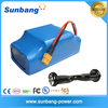 High power 36v 4.4ah li-ion battery pack for 700W motor power lithium battery smart self balancing electric battery scooter