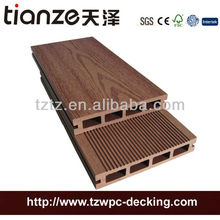 Tianze WPC China manufacture 150x25mm Hollow outdoor WPC terrace board decking