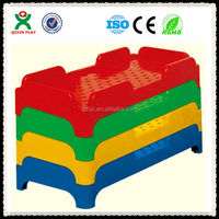Cute Stackable Plastic beds for kids/toddler bed/Nursery Furniture Sets/QX-198A