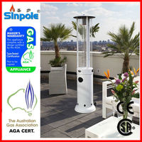 2015 Hot Sell AGA/SAI approved Glass Tube gas Patio heater with CE/CSA/AGA approved(PH10)