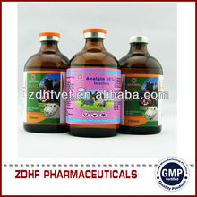 Best amimal fever medicine analgin injection vet / metamizole sodium injection
