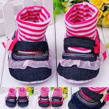 stylish new design cotton baby shoes for girl
