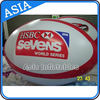 Oval shaped Logo inflatable advertising balloon/advertising inflatable tire balloon