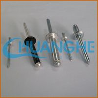 Low price wholesale aluminum pop rivets sizes