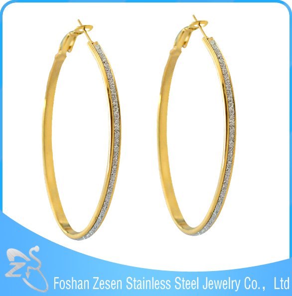 zs17238 stainless steel premier large one gram gold