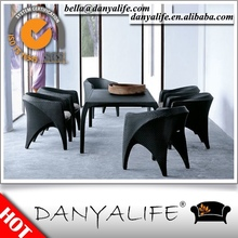 DYDS-D7626 Danyalife Luxury Outdoor Collection Synthetic Rattan Garden Side Chair