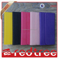 Fashion design universal pu leather phone case for iphone 6