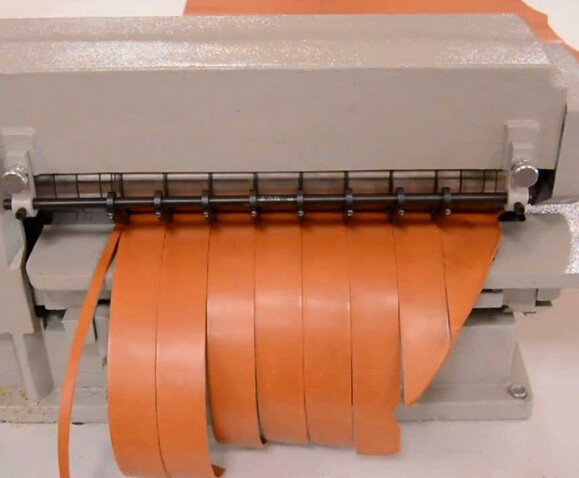 leather machine belt