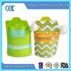 reusable baby food spout pouch with leak proof ziplock
