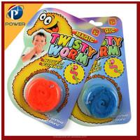 TWISTY magic worm wurli squirmles fuzzy trick toy Russian