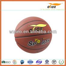 Pu Leather Custom Basketball