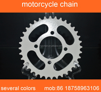 motorcycle spare parts 45# steel white zinc CG150 428H motorcycles chain and sprocket kits