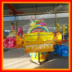 Family entertainment center equipment for sale spiral jet rides