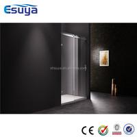 shower room partition sliding door tempered glass optional stainless steel handle shower room
