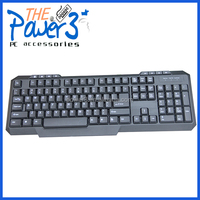 Cheap wired tablet gaming keyboard with arabic letters