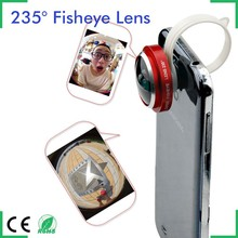 Clip Super Universal Fish Eye Lens 235 Degree for iPhone 7 LG Samsung s6