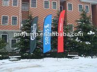 promotional beach flag pole