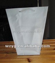 plastic PP packing handled flower basket bag