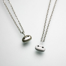 Dubai fashion BAYMAX thin long chain 925 sterling silver pendant necklace