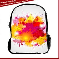 Manufacturer custom school bag cute cats school rucksack bags for teenagers