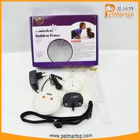 2015 innovative design pet fence wireless indoor dog fence TZ-PET007 dog traing system