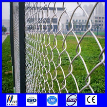 galvanized athletic field fence/chain link fence wire mesh