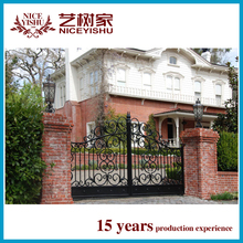 2015 Top -selling modern sliding iron gate designs/automatic gate/steel gate design/main gate design for home/iron gate door