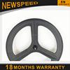 High quality UD/3K matt/glossy Novatec hub Toray T700 carbon 3 spoke bike wheels 700C in road bicycle wheels