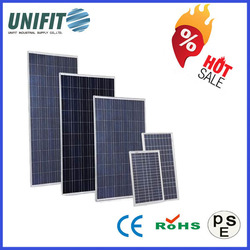 156*156 Poly Best Price Power 100w Solar Panel With a Solar Panel