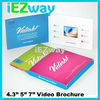 """2015 New Product Alibaba Express High Quality 2.4"""" 4.3"""" 5"""" 7"""" LCD Screen Video Brochure"""