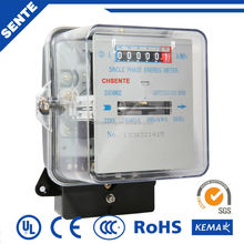 DD28 Type single phase electronic AC active watt-hour digital electric conductivity electrical digital meter