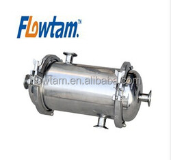 top sanitary stainless steel shell tube heat exchanger