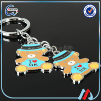 Raccoons cute little animal series of tail keychain